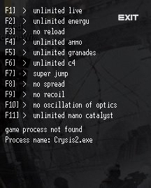 Crysis 2 Trainer [+11] (ver.- all)