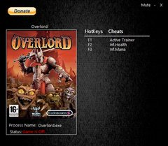 Overlord Trainer [+2] (ver. - all)