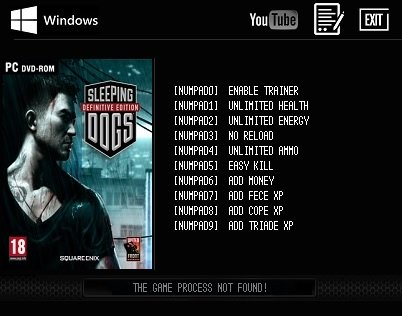 Sleeping Dogs Definitive Edition Trainer [+9]