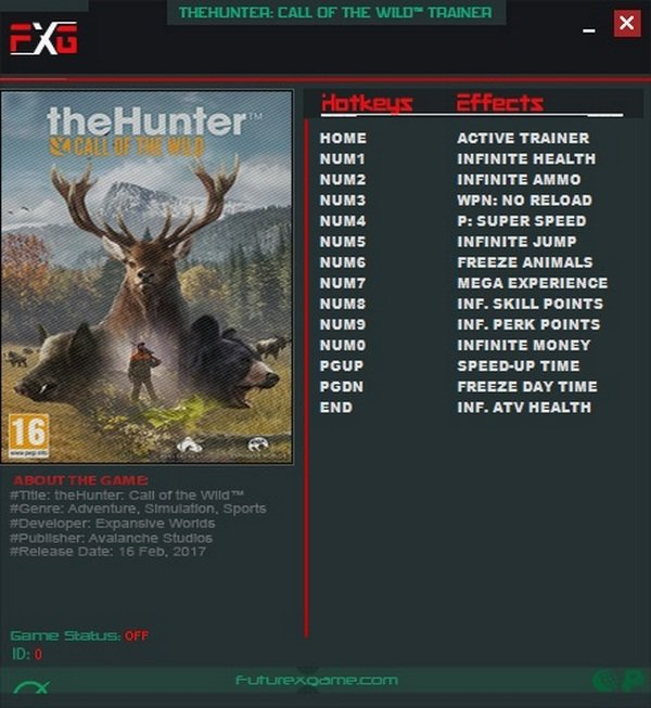 The Hunter - Call of the Wild Trainer [+13] (all)