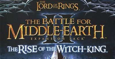 Trainer The Lord of the Rings -The Battle for Middle-earth 2 - The Rise of Witch King
