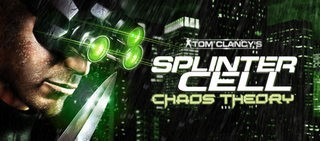 Trainer Tom Clancys Splinter Cell - Chaos Theoryt
