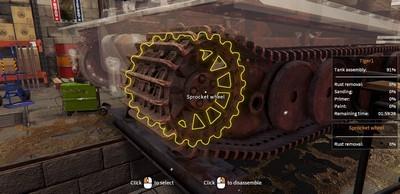 Tank Mechanic Simulator Trainer [+21]