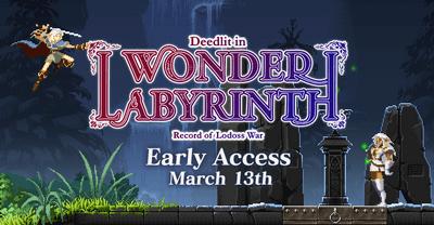 Trainer на Record of Lodoss War Deedlit in Wonder Labyrinth