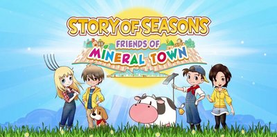 Trainer on Story of Seasons Friends of Mineral Town