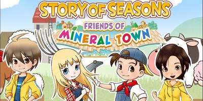 Trainer on Story of Seasons - Friends of Mineral