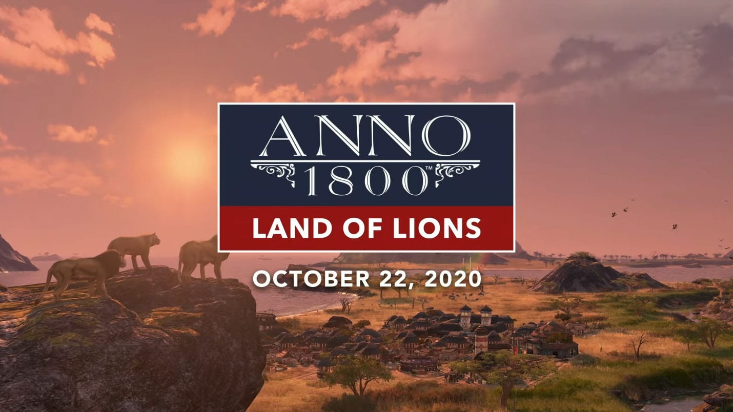 Trainer on Anno 1800 - Land of Lions