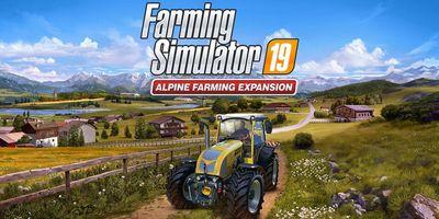 Trainer on Farming Simulator 19 - Alpine Farming