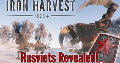 Trainer on Iron Harvest - Rusviet Revolution