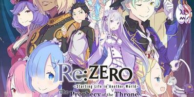 Trainer on Re ZERO -Starting Life in Another World- The Prophecy of the Throne